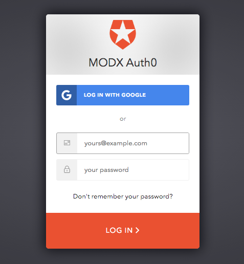 Help Secure Auth0 + MODX and Win Cash